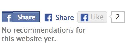 FacebookのLikeとShare